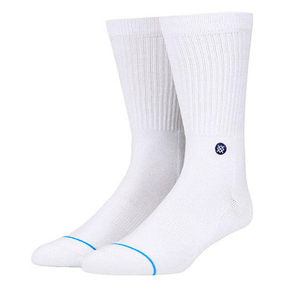 Stance Icon Solid Athletic Crew Sock White