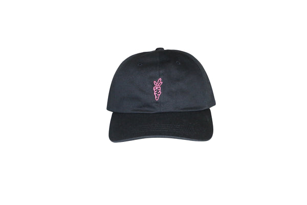 KATAKANA DAD HAT / Black