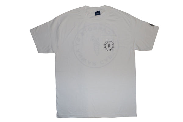 CIRCLE LOGO T-SHIRT / White