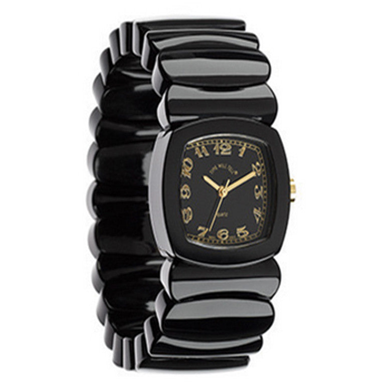 Time Will Tell Ladies Monotone Black