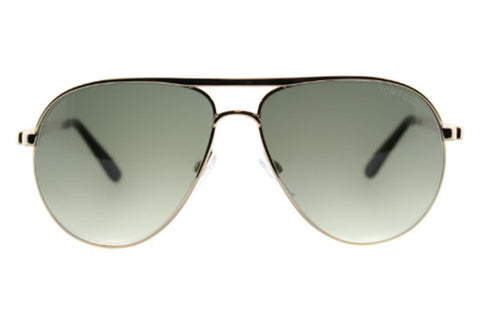 Marko Sunglasses Shiny Gold / Green Gradient