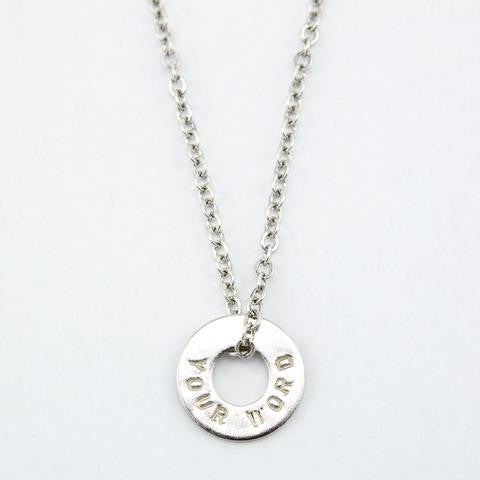 CHAIN NECKLACE  Nickel