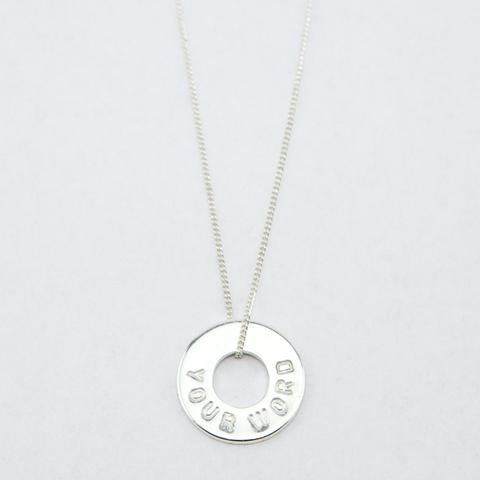 DAINTY NECKLACE  Silver Plated