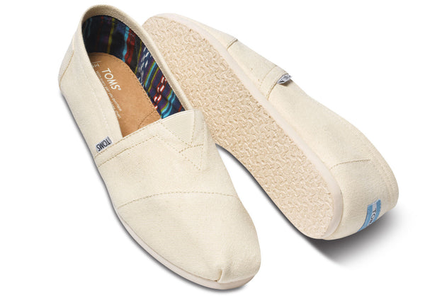 NATURAL CANVAS MEN'S CLASSICS