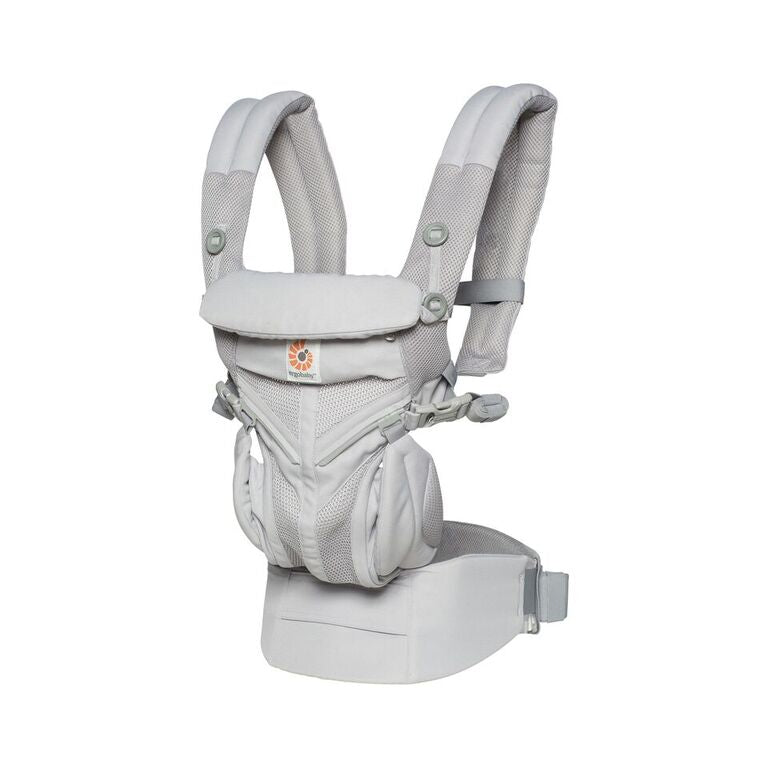 Omni 360 Baby Carrier All-In-One: Cool Air Mesh - Pearl Grey