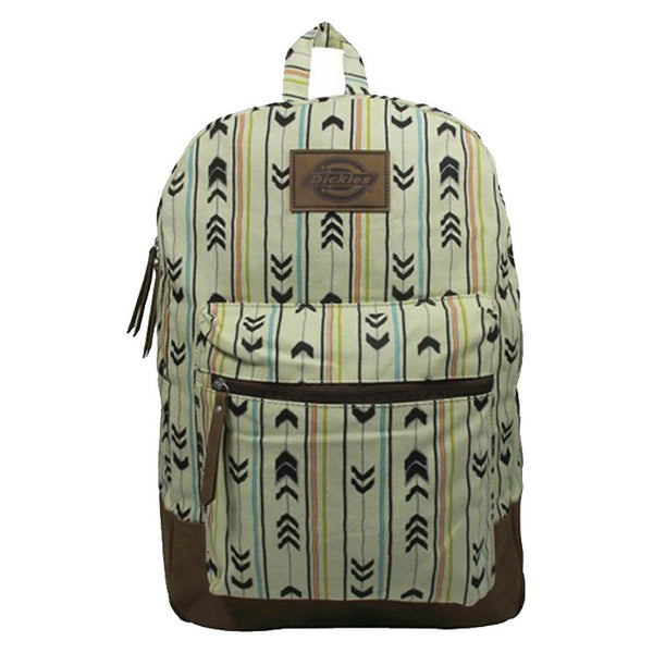Printed Hudson Canvas Backpack