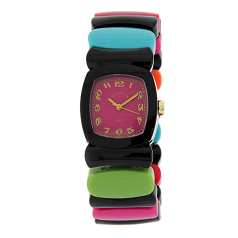 Time Will Tell Ladies Watch Rainbow BL/BR