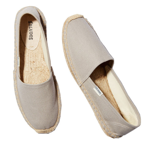 Original Canvas Dali Gray Espadrille Flat Sandals