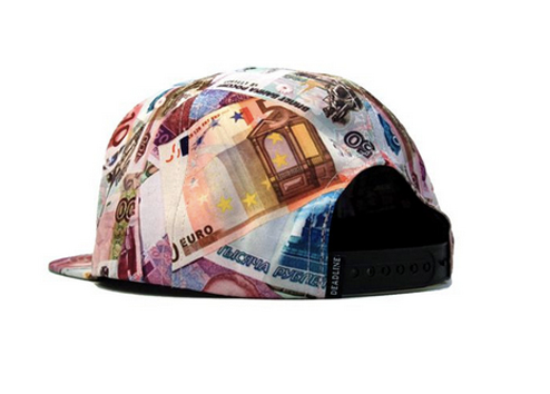 Foreign Currency 5 Panel Snapback