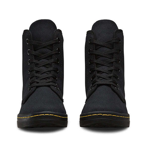 Shoreditch Canvas Lace Up Boot