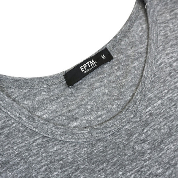 TRIBLEND ORIGINAL LONG TEE GREY