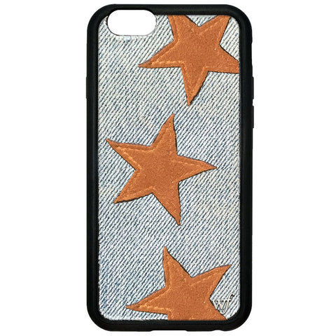 Tan Star Denim wf Gold Emblem