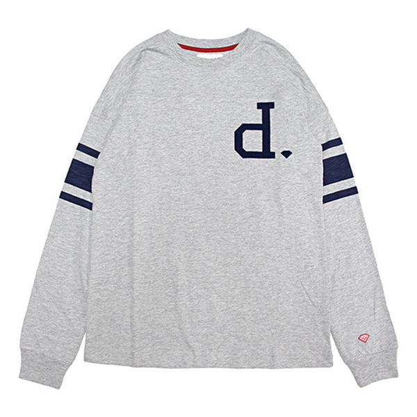 Un-Polo Football Shirt Navy Heather Grey