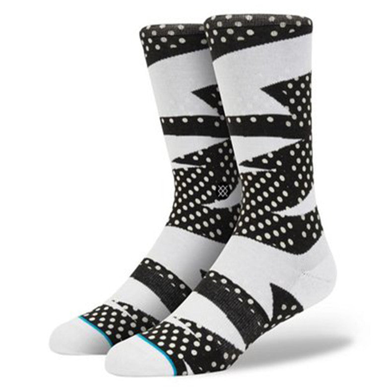 STANCE ZAPPED SOCKS WHITE