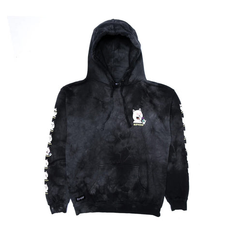 RND4524	7 Days Hoodie - Black Lightning Wash