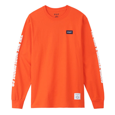 ARM & HAMMER GOLD SEAL L/S TEE 	ORANGE