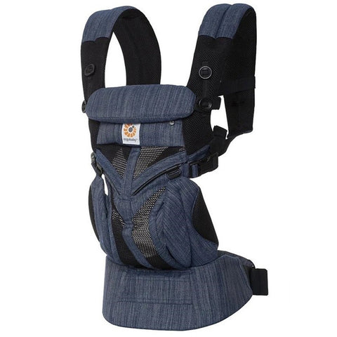 Ergobaby™ Omni 360 Cool Air Mesh Baby Carrier - Indigo Weave