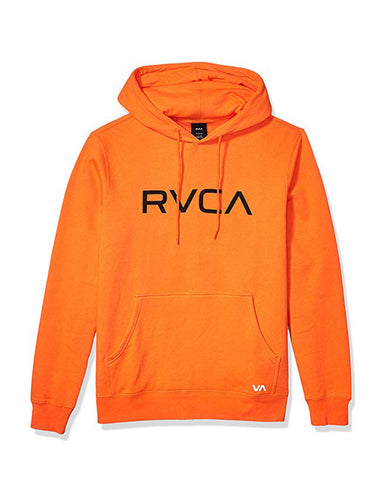 BIG RVCA HOODIE M602VRBR - orange crush