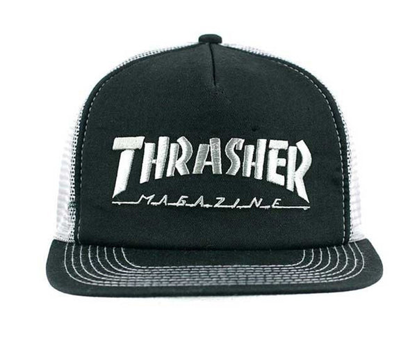 LOGO EMBROIDERED MESH HAT