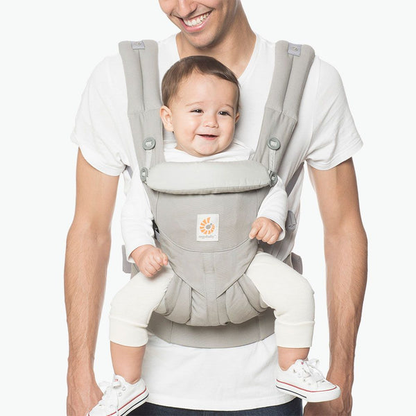 Omni 360 Baby Carrier All-In-One: Pearl Grey