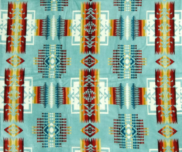 Chief Joseph Spa Towel Aqua