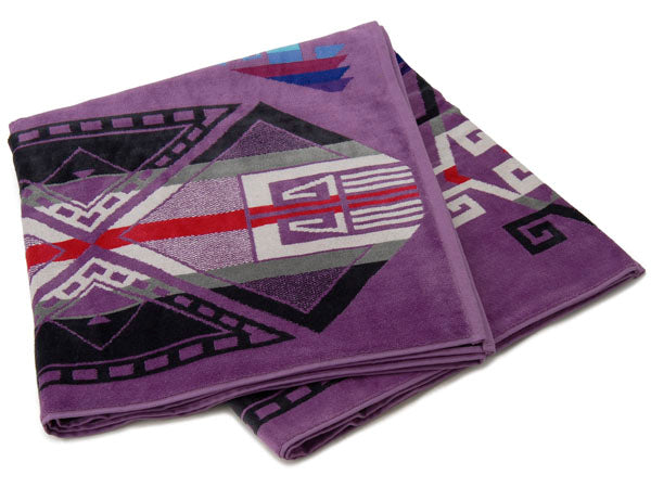Lilac Spa Towel