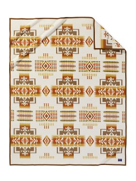 Chief Joseph Blanket  Cream