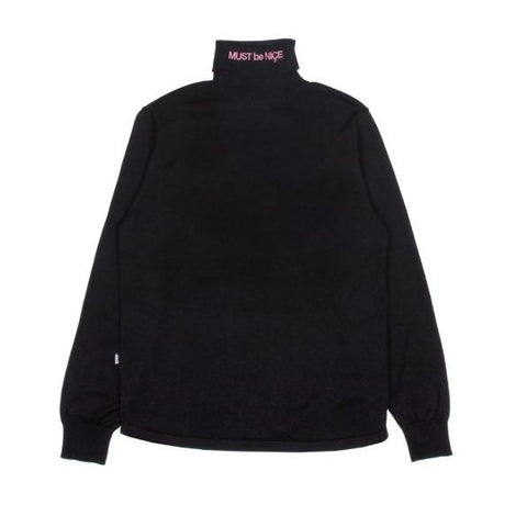 RND2718	MBN Turtle Neck - Black
