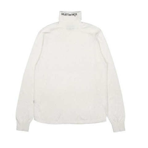 RND2717	MBN Turtle Neck - White
