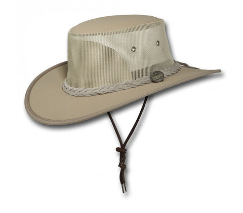 Barmah 1057  - Canvas Drover -Beige