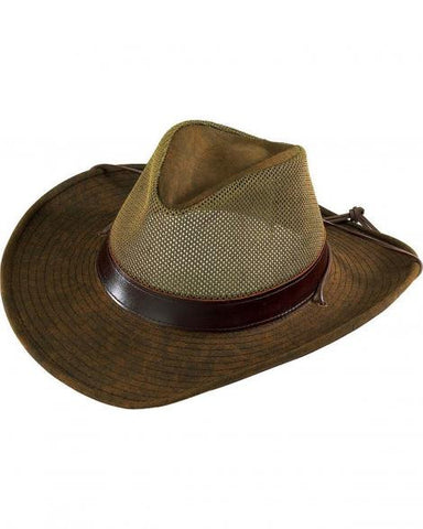 Henschel 5297-59 Aussie Packable Mesh Breezer Hat
