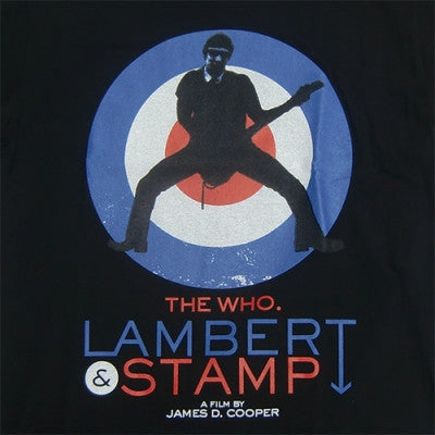 Lambert & Stamp Black Pete T-Shirt Closeup