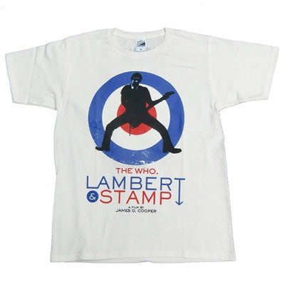Lambert & Stamp White Pete T Shirt