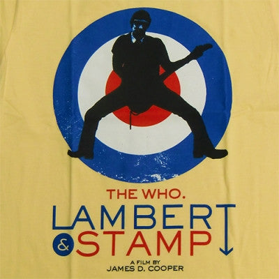 Lambert & Stamp Yellow Pete T-Shirt Closeup