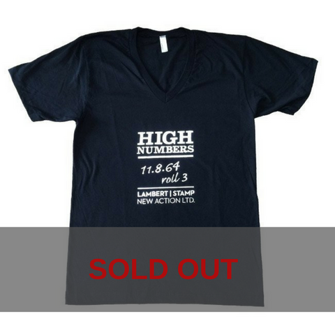 Original Design High Numbers T-Shirt (V-neck)