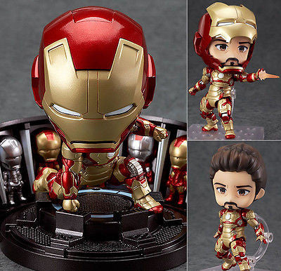 Nendoroid 349 Iron Man Mark 42 Hero's Edition + Hall of Armor Set Iron Man 3 Marvel Good Smile Company [SOLD OUT]