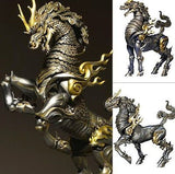 KT Project KT-001 Takeya Style Jizai Okimono Kirin Iron Rust Version Revoltech Kaiyodo [SOLD OUT]