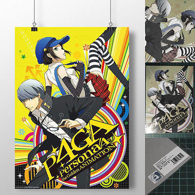 A3 Clear Poster Persona 4 The Golden Penguin Parade [SOLD OUT]
