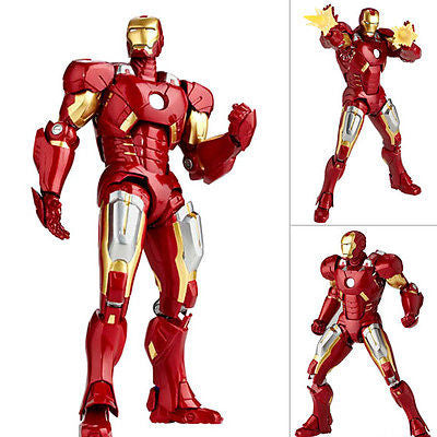 Revoltech Sci-Fi 042 Iron Man Mk VII (Mark 7) The Avengers Marvel Kaiyodo [SOLD OUT]