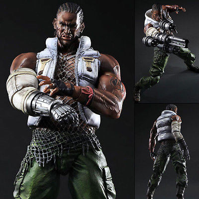 Play Arts Kai Barret Wallace Final Fantasy VII (FF7) Square Enix [SOLD OUT]
