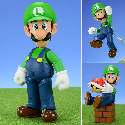 S.H.Figuarts Luigi from Super Mario Nintendo Bandai [SOLD OUT]
