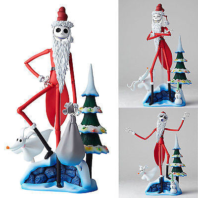 Revoltech Sci-Fi 017 Jack Skellington Santa Version Re-release Kaiyodo [SOLD OUT]