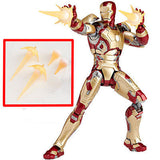 Revoltech Tokusatsu Sci-Fi 049 Iron Man Mark 42 Iron Man 3 Marvel Kaiyodo [SOLD OUT]