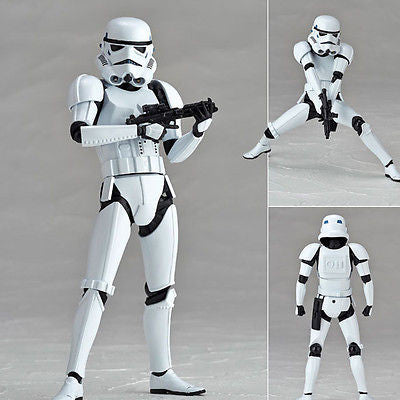 Revoltech Star Wars 002 Stormtrooper Star Wars Episode V: The Empire Strikes Kaiyodo [SOLD OUT]