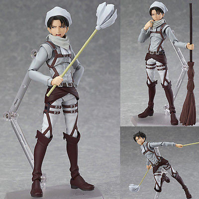 Figma EX-020 Levi Cleaning Version Attack on Titan Max Factory [SOLD OUT]