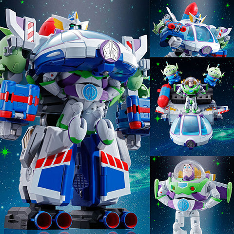 Chogokin Chogattai Buzz the Space Ranger Robo from Toy Story [IN STOCK]
