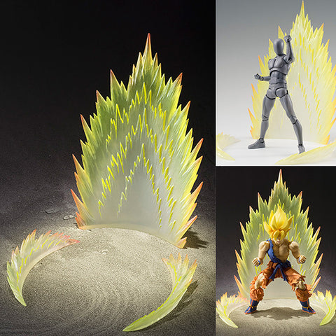 Tamashii Effect Energy Aura Yellow Ver. for S.H.Figuarts Action Figure Bandai [SOLD OUT]