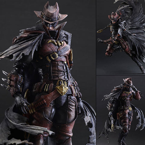 Play Arts Kai Batman Variant Timeless Wild West Action Figure Square Enix [SOLD OUT]