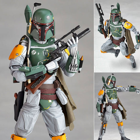 Revoltech Star Wars 005 Boba Fett from Star Wars Episode V: The Empire Strikes Back Kaiyodo [SOLD OUT]