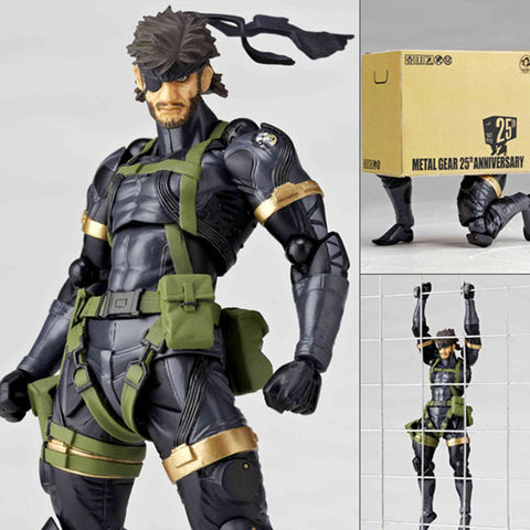 Revoltech Yamaguchi 131 Naked Snake from Metal Gear Solid: Peace Walker Kaiyodo [SOLD OUT]